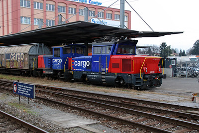 1) 923 008 (97 85 1923 008-7 CH-SBBC) at St. Margrethen on 16th January 2014