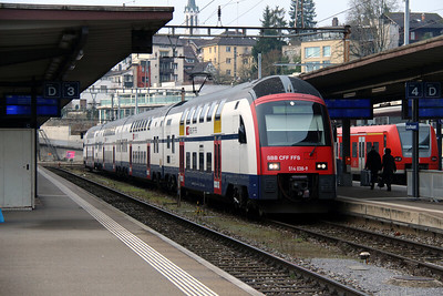 514 038 at Schaffhausen on 16th January 2014