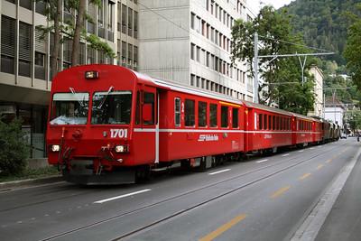 RhB, 1701 at Chur on 11th June 2007 (2)