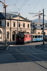 RhB, 619 at Chur on 10th June 2007 (1)