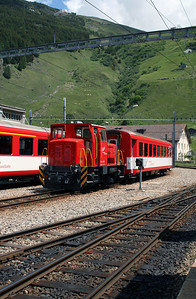 MGB, 4971 at Andermatt on 8th June 2007 (2)