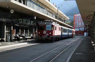 RhB, 619 at Chur on 10th June 2007 (2)