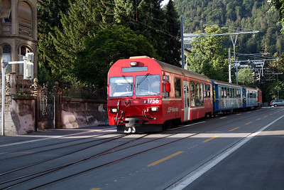 RhB, 1756 at Chur on 10th June 2007