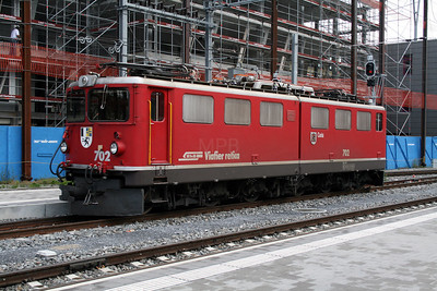 RhB, 702 at Chur on 8th June 2007 (1)