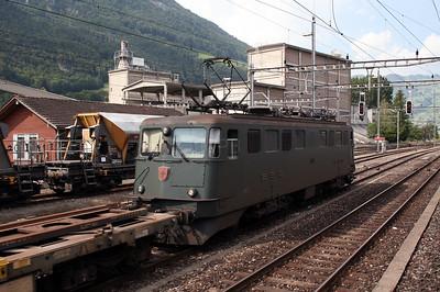 11517 at Brunnen on 8th June 2007
