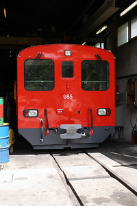 DFB, 985 at Realp DFB Depot on 8th June 2007