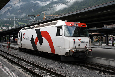 RhB, 649 at Chur on 8th June 2007