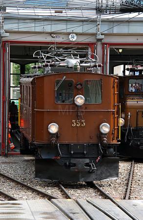 RhB, 353 at Landquart RhB Depot on 10th May 2014 (4)