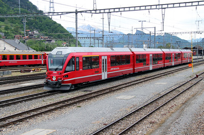 RhB, 3103 at Landquart RhB Depot on 10th May 2014