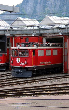 RhB, 704 at Landquart RhB Depot on 10th May 2014 (3)