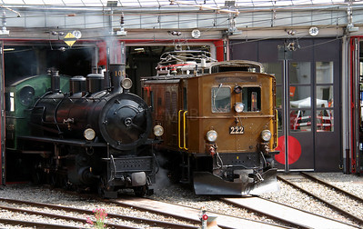 Landquart RhB Depot on 10th May 2014