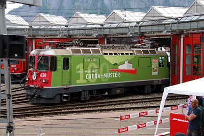 RhB, 630 at Landquart RhB Depot on 10th May 2014 (4)