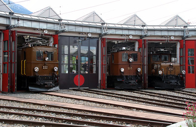1) Landquart RhB Depot on 10th May 2014