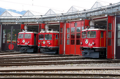 4) Landquart RhB Depot on 10th May 2014