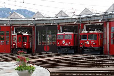 3) Landquart RhB Depot on 10th May 2014