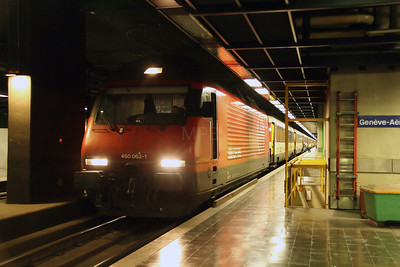 2) 460 063 at Geneve Airport on 9th May 2014