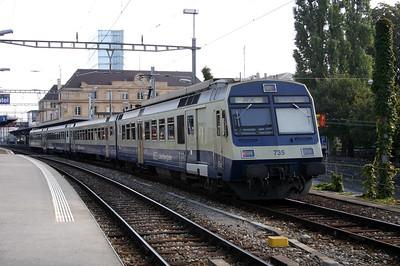 BLS, 565 735 at Neuchatel on 5th October 2004
