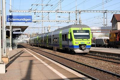 BLS, 525 029 at Ostermundigen on 31st October 2005