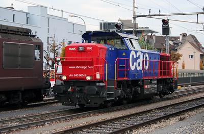 843 060 at Thun on 31st October 2005
