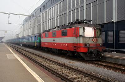 11108 at Zofingen on 30th October 2005