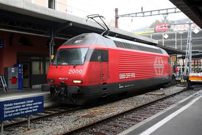 460 070 at Locarno on 1st November 2005