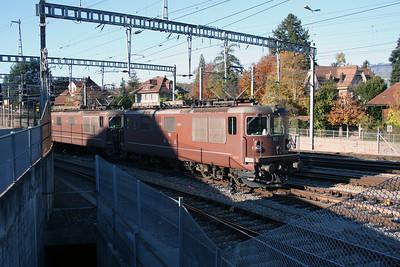 BLS, 162 at Spiez Depot on 30th October 2005