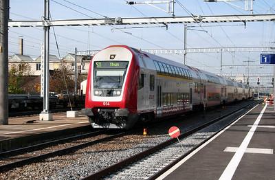 CFL, 50 82 86 70 014-3 at Gumligen on 31st October 2005