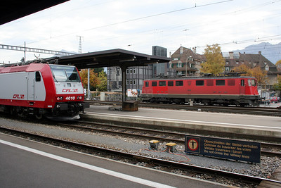 2) CFL, 4010 at Thun on 31st October 2005