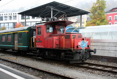 Te3 176 at Locarno on 1st November 2005