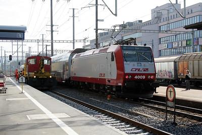 CFL, 4009 at Gumligen on 31st October 2005