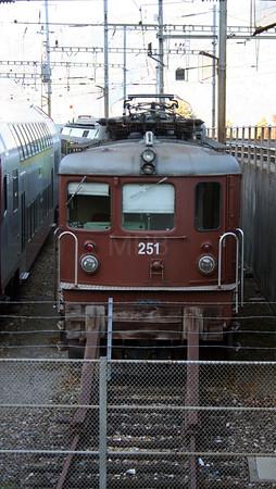 BLS, 251 at Spiez Depot on 30th October 2005
