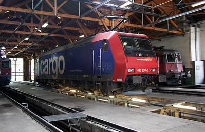 482 020 at Erstfeld Depot on 26th September 2006 (1)
