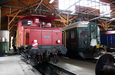 16396 at Erstfeld Depot on 26th September 2006 (2)