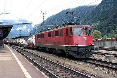 11454 at Erstfeld on 26th September 2006