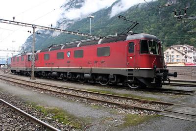 11623 at Erstfeld Depot on 26th September 2006