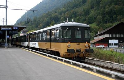 BLS, 50 63 82 33 940-2  at Interlaken Ost on 25th September 2006