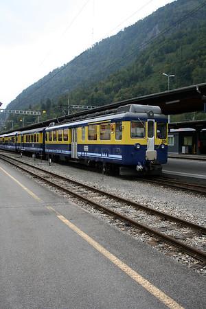 WAB, 306 at Interlaken Ost on 25th September 2006 (2)