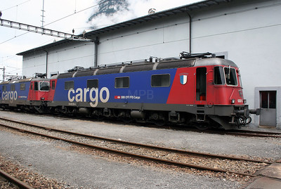 620 055 at Erstfeld Depot on 26th September 2006