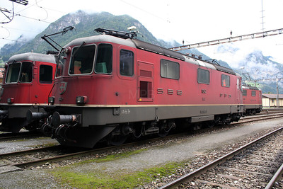 11342 at Erstfeld Depot on 26th September 2006