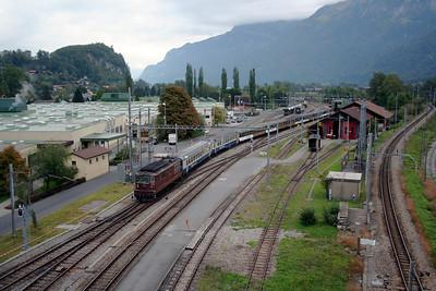 BLS, 180 at Interlaken Ost on 25th September 2006 (2)