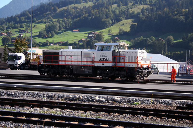 SERSA, 843 153 at Frutigen on 28th September 2006