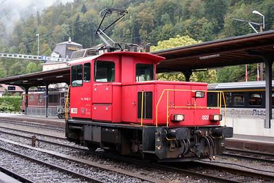 BLS, 245 022 at Interlaken Ost on 26th September 2006