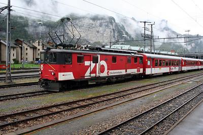 ZB, 110 005 at Meiringen on 26th September 2006 (2)