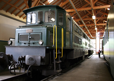 11801 at Erstfeld Depot on 26th September 2006 (2)
