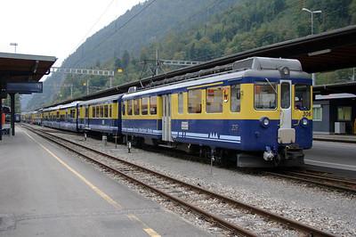 WAB, 306 at Interlaken Ost on 25th September 2006 (1)
