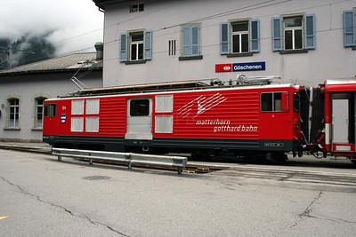 MGB, 94 at Goscenen on 26th September 2006 (1)