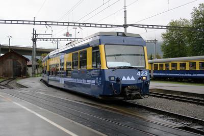 BOB, 423 at Interlaken Ost on 26th September 2006