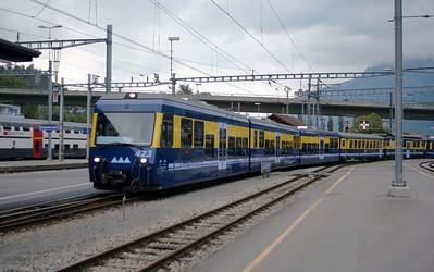WAB, 423 at Interlaken Ost on 25th September 2006