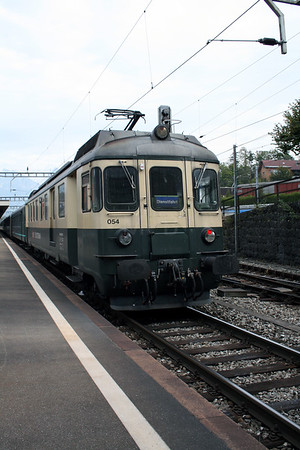 SOB, 576 054 (ex 576 482) at Arth Goldau on 10th September 2007