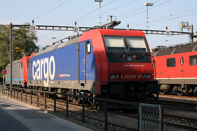 484 001 at Bellinzona on 13th September 2007 (2)